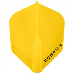 Plumas ROBSON PLUS FLIGHT Shape Amarillo