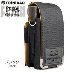 DART CASE TRINIDAD PLAIN Croco Black