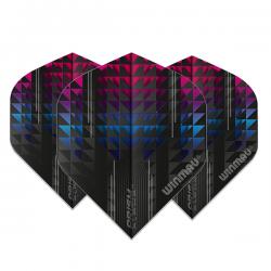 Penas Winmau Prism Alpha Preta-Rosa Standard