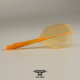 Penas CONDOR AXE Neon Orange shape curta. 3 Uds.