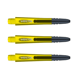 Winmau Vecta Shafts medium yellow
