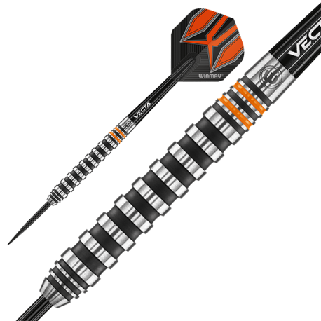 WINMAU Fury Darts 90%. 24grs.