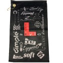 L-STYLE Black Towel