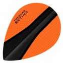 AILETTES HARROWS RETINA Pear Orange-Noir
