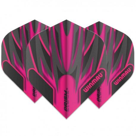 Winmau Prism Alpha Pink Standard Flights