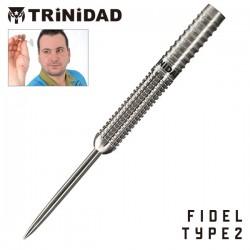 TRINIDAD Pro Series Fidel type2. 18grs. STEEL DARTS
