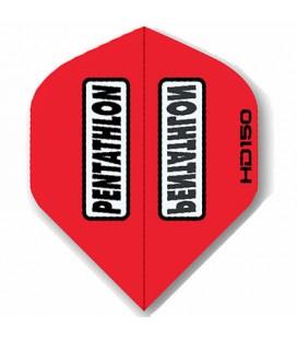 PLUMAS PENTATHLON HD 150 Roja Standard