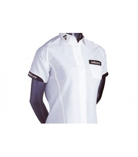 TEKNIK LADY Dart Shirt. White