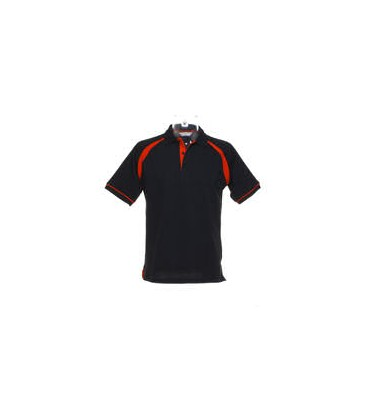 SPORT DART POLO. Black-Red