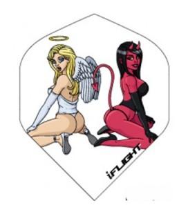 PLUMAS RUTHLESS STANDARD Angel & Devil