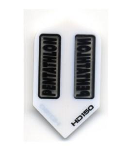 PLUMAS PENTATHLON HD 150 Blanca Slim