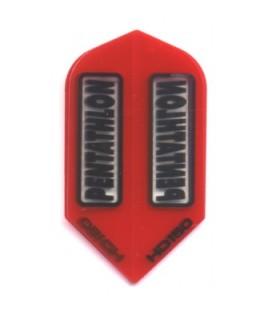 PLUMAS PENTATHLON HD 150 Roja Slim