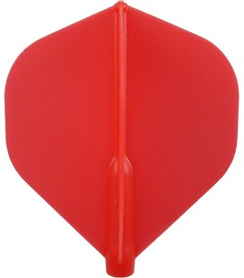 Plumas FIT FLIGHT Standard roja. 6 Uds.