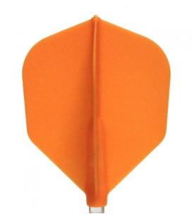 Plumas FIT FLIGHT Shape naranja. 6 Uds.