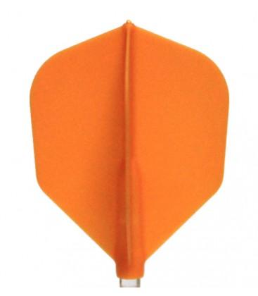 Penas FIT FLIGHT Shape laranja. 6 Uds.