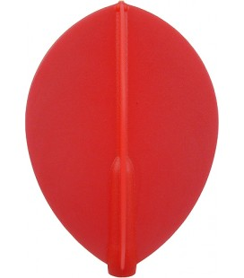 FIT FLIGHT Teardrop Red. 6 Uds.