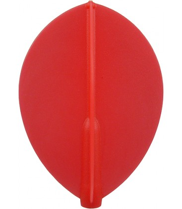 Plumas FIT FLIGHT Pera roja. 6 Uds.