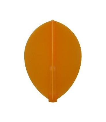 Plumas FIT FLIGHT Pera naranja. 6 Uds.