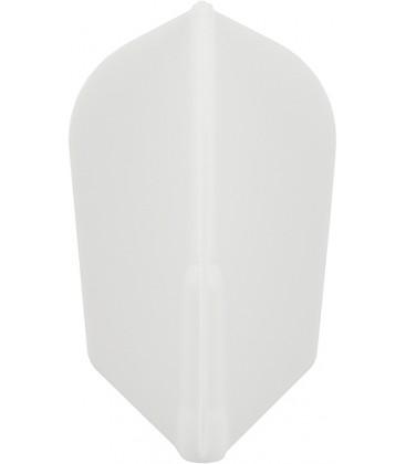 Plumas FIT FLIGHT Slim blanca. 6 Uds.