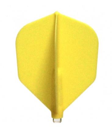 Penas FIT FLIGHT Shape amarela. 6 Uds.