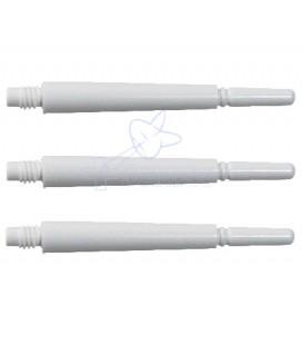 FIT SHAFT GEAR Locked 31mm blanc 3 Uds.