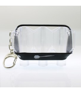 FLIGHT CASE Krystal transparente