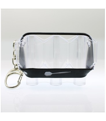 Caso FLIGHT CASE Krystal transparente