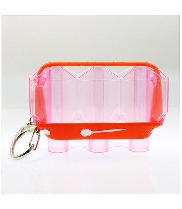 FLIGHT CASE Krystal Clear Red