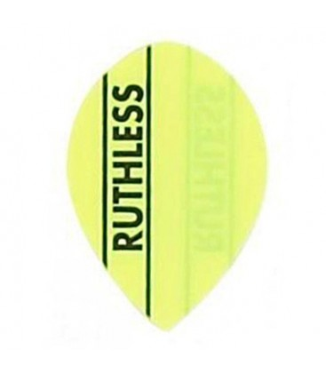 PENAS RUTHLESS LISA OVAL AMARELO FLUOR
