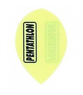 PENTATHLON Teardrop YELLOW FLUOR FLIGHTS