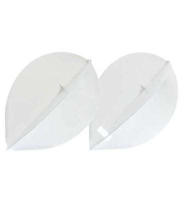 Penas L-FLIGHT Oval branca