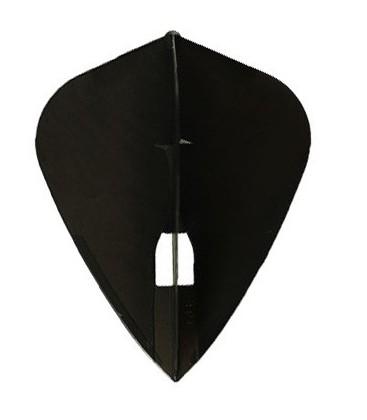 Plumas CHAMPAGNE FLIGHT Kite Negra