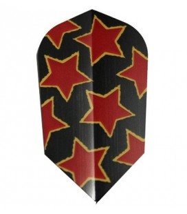 PLUMAS DARTRES Slim Red Stars