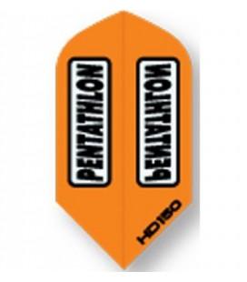 PLUMAS PENTATHLON HD 150 Naranja Slim