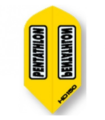 PLUMAS PENTATHLON HD 150 Amarilla Slim