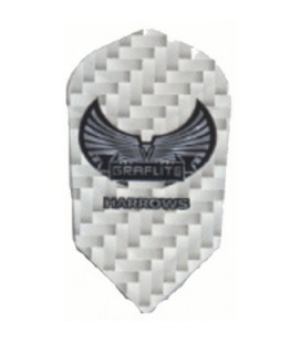Plumas HARROWS GRAFLITE SLIM Blanca