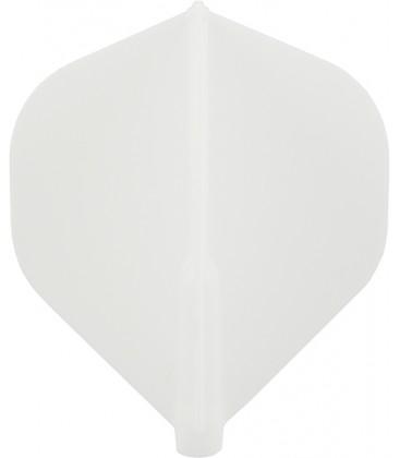 Plumas FIT FLIGHT Standard blanca. 6 Uds.