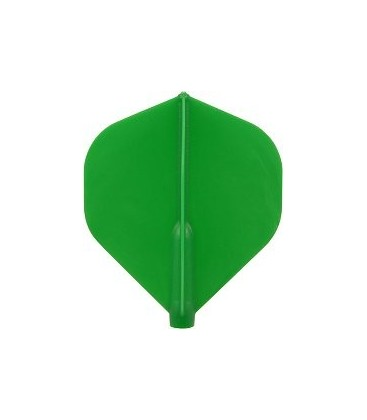 Plumas FIT FLIGHT Standard verde. 6 Uds.