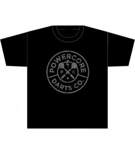 POWERCORE T-shirt preta