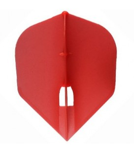Penas CHAMPAGNE FLIGHT Shape Vermelha