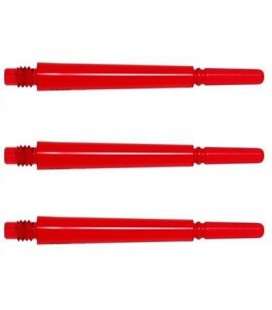 FIT SHAFT GEAR Spinning larga roja 3 Uds.