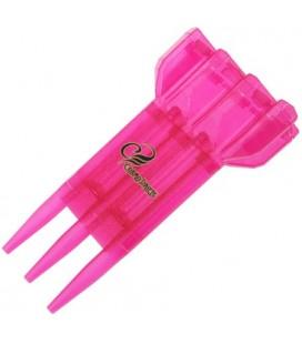Estuche Case-S transparente rosa