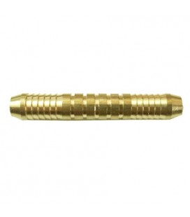 Brass barrel. Club darts.  100 Uds. 18grs