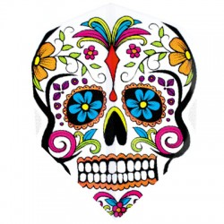 HARROWS MARATHON Standard Skull flower