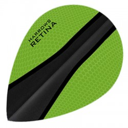 HARROWS RETINA OVAL GREEN-BLACK