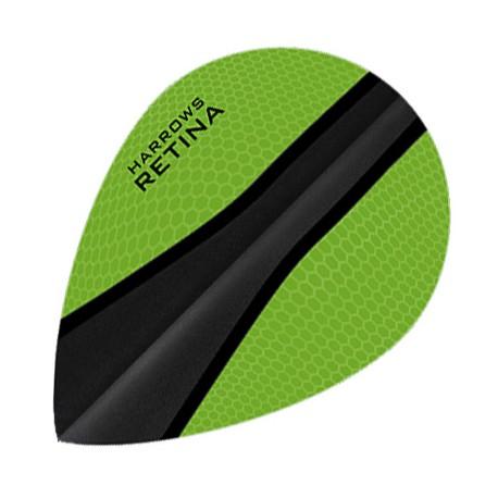 HARROWS RETINA OVAL GREEN-BLACK