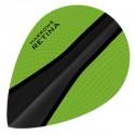 HARROWS RETINA OVAL GREEN-BLACK FLIGHTS