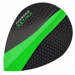 HARROWS RETINA OVAL BLACK-GREEN