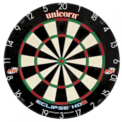 DARTBOARD UNICORN ECLIPSE HD2
