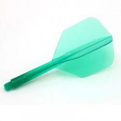 CONDOR Verde shape média. 3 Uds.
